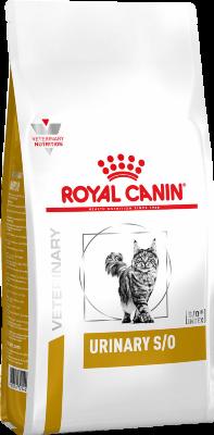 Сухой корм Royal Canin Urinary S/O LP34 для кошек при лечении моче-каменной болезни