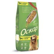 Сухой корм Оскар для собак Ягненок с рисом, 13 кг