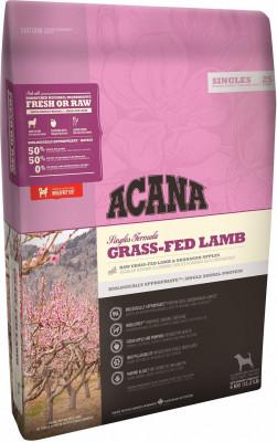 Сухой корм для собак всех пород и возрастов Acana Singles Grass-Fed Lamb, беззерновой, с ягненком