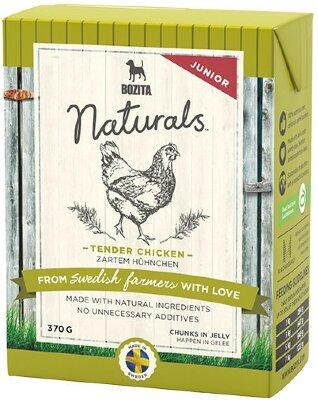 Консервы Bozita Naturals Tender Chicken Junior для щенков Кусочки в желе с Курицей