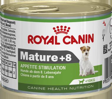 Консервы Royal Canin Mature +8 для стареющих собак от 8 лет, 195 г