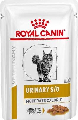 Паучи Royal Canin Urinary S/O для кошек при заболеваниях МКБ, с цыпленком в соусе, 85г