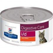 Консервы Hill's Prescription Diet i/d при расстройствах пищеварения у кошек, 24шт x 156г