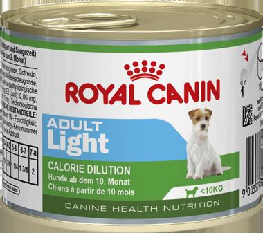 Консервы Royal Canin Adult Light Mousse для собак с избыточным весом, 195 г