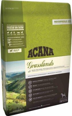 Сухой корм для собак Acana Regionals Grasslands Dog, беззерновой, с ягненком