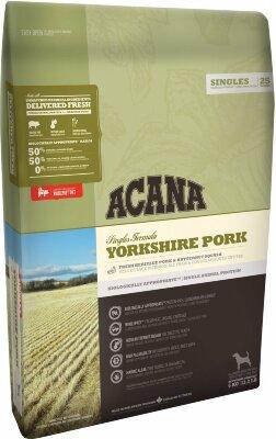 Сухой корм для собак всех пород и возрастов Acana Singles Yorkshire Pork, беззерновой, со свининой