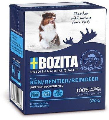 Консервы Bozita Naturals Reindeer для собак Кусочки в желе с Оленем