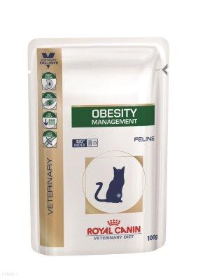 Паучи Royal Canin Obesity Management S/O для кошек при ожирении, 100 г