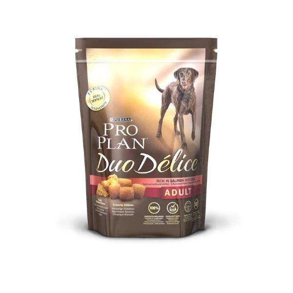 Сухой корм Pro Plan Duo Delice для собак, Лосось с рисом