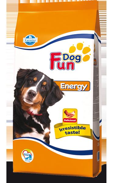 Сухой корм Farmina Fun Dog Energy для взрослых собак, 20кг
