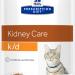 Паучи Hill's Prescription Diet k/d для лечения заболеваний почек у кошек, с Лососем, 12шт x 85г