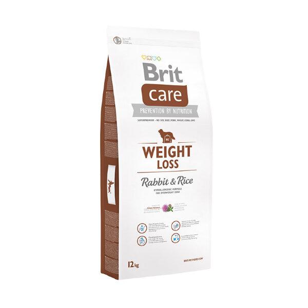 Сухой корм Brit Care Weight Loss Rabbit & Rice для собак с избыточным весом, c кроликом и рисом