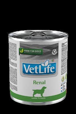 Консервы Farmina Vet Life Renal для взрослых собак при почечной недостаточности, 300г