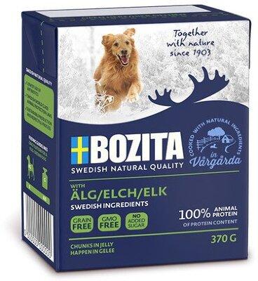 Консервы Bozita Naturals Elk для собак Кусочки в желе с Лосем