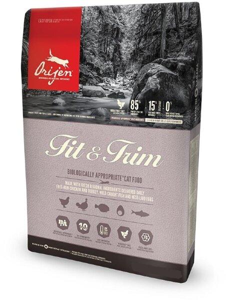 Сухой корм  для кошек c лишним весом Orijen Fit & Trim 85/15