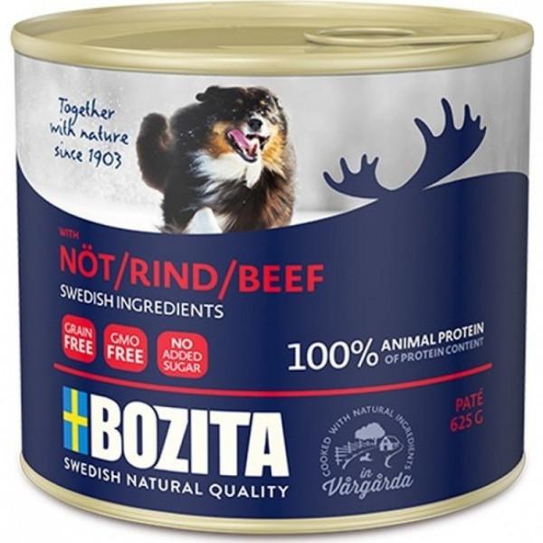 Консервы Bozita Beef для собак мясной паштет с Говядиной ж/банка