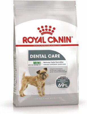 Сухой корм Royal Canin Mini Dental Care для собак с повышенной чувствительностью зубов