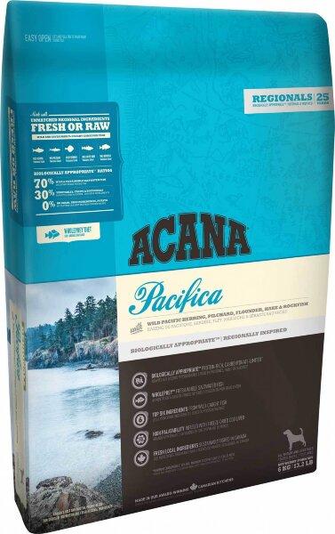 Сухой корм для собак Acana Regionals Pacifica Dog, беззерновой, с рыбой
