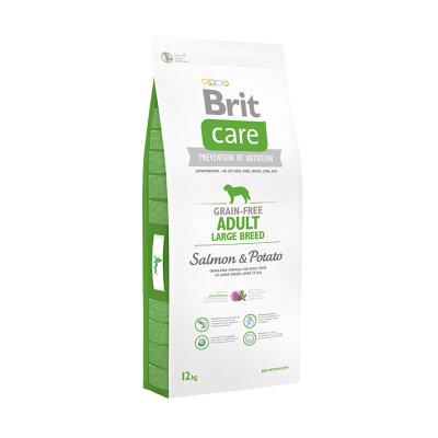 Сухой корм Brit Care Grain-free Adult Large Breed Salmon & Potato для взрослых собак крупных пород с лососем и картофелем