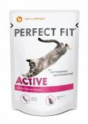Паучи Perfect Fit Active для активных кошек, рагу с курицей 85 г