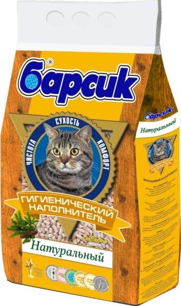 Наполнитель Барсик Натуральный 4,54 л