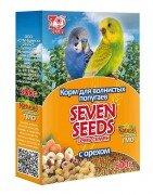 Корм для волнистых попугаев SEVEN SEEDS с орехами, 500г.