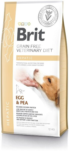 Сухой корм Brit Veterinary Diet Dog Grain Free Hepatic беззерновой, при печеночной недостаточности