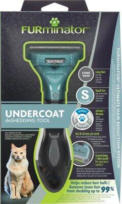 FURminator S для маленьких кошек с длинной шерстью