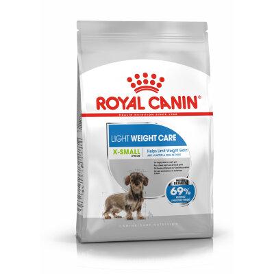Сухой корм Royal Canin X-Small Light Weight Care для миниатюрных собак, склонных к набору веса