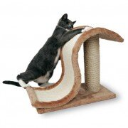 "Когтеточка - волна для кошек Trixie ""Inca"" со столбиком, 39см"