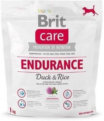 Сухой корм Brit Care Endurance для активных собак, расходующих много энергии, с уткой и рисом