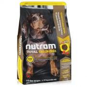 Натуральный сухой корм для собак Nutram Total Turkey Chicken & Duck T27, беззерновой с индейкой, курицей и уткой, 2.72кг