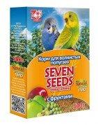 Корм для волнистых попугаев SEVEN SEEDS с фруктами, 500г.