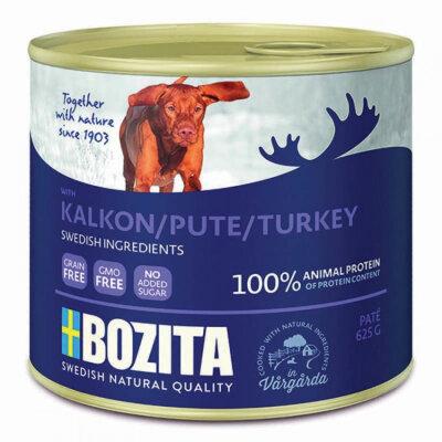 Консервы Bozita Turkey для собак мясной паштет с Индейкой ж/банка