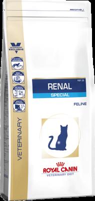 Сухой корм Royal Canin Renal Special RSF 26 для взрослых кошек с хронической почечной недостаточностью, 500г
