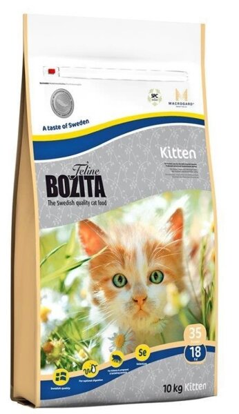 Сухой корм Bozita Feline Kitten для котят и беременных кошек