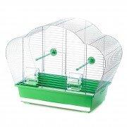 Клетка для птиц Inter-Zoo BETA (оцинкованная), 58x38x43см