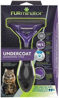 FURminator M/L для больших кошек с длинной шерстью