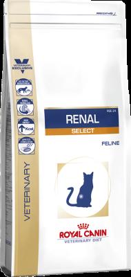 Сухой корм Royal Canin Renal Select RSE 24 для взрослых кошек с хронической почечной недостаточностью, 500г