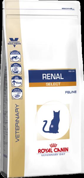 Сухой корм Royal Canin Renal Select для взрослых кошек с хронической почечной недостаточностью, 500г