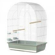 Клетка для птиц Inter-Zoo LUSI 3 (овальная крыша), 54x34x75см