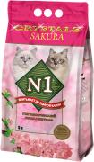Наполнитель №1 Crystals Sakura силикагелевый для кошек 5л