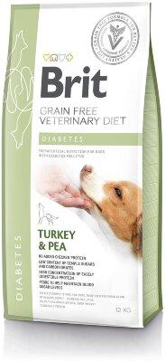 Сухой корм Brit Veterinary Diet Dog Grain Free Diabetes беззерновой, при диабете