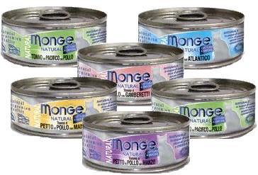Набор консервов для кошек Monge со скидкой 20%