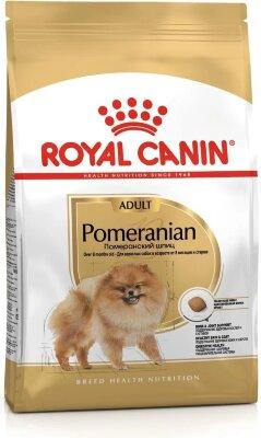 Сухой корм Royal Canin Pomeranian Adult для взрослых собак породы Померанский шпиц