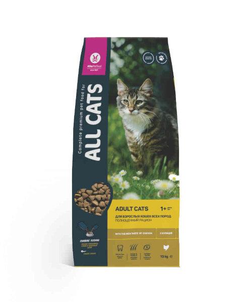 Сухой корм для кошек ALL CATS полнорационный