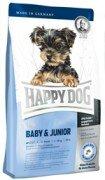Сухой корм Happy Dog Mini Baby&Junior для щенков и юниоров мелких пород