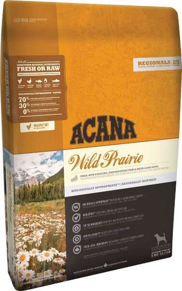 Сухой корм для собак беззерновой с курицей Acana Regionals Wild Prairie