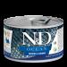 Консервы Farmina N&D Ocean Herring & Shrimp Adult для взрослых собак, сельдь и креветки