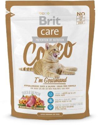 Сухой корм Brit Care Cat Cocco Gourmand беззерновой для привередливых кошек